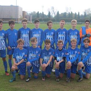 U14s overcome local rivals Kings Hill