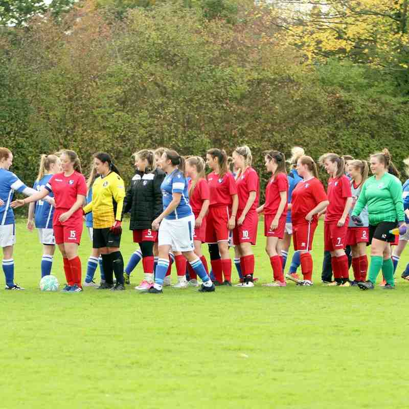 Angels Ladies(5) v Long Lane Development(2), SECWFL Kent Div 1 by David Couldridge 22.10.17.
