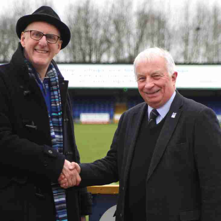 Roger Maddams is Angels new Chairman