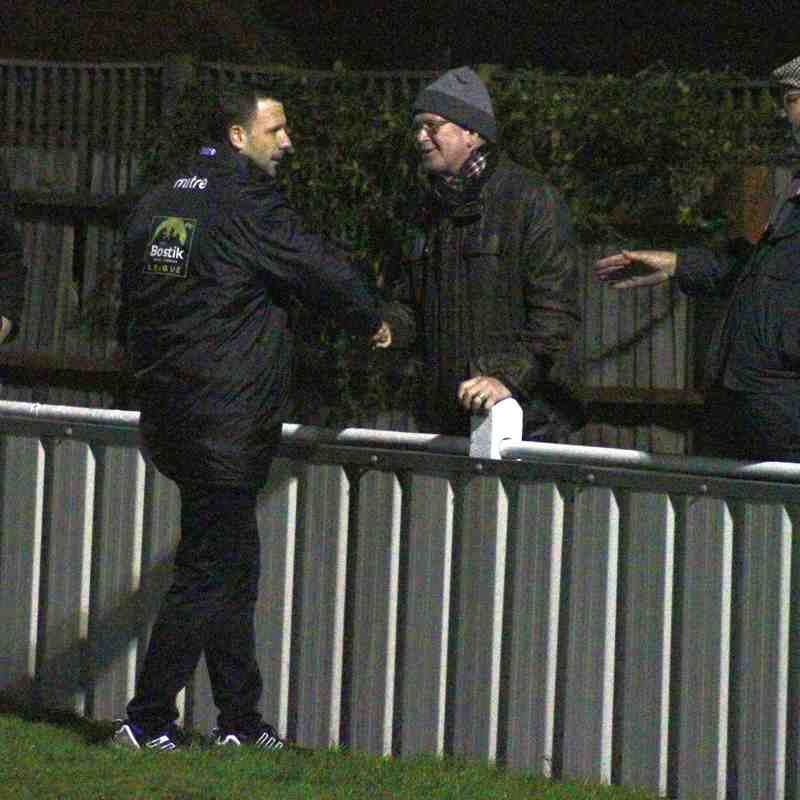 Brightlingsea Regent(0) vs Angels(3) 30.12.17. Bostik Premier. By Chris Coolbear