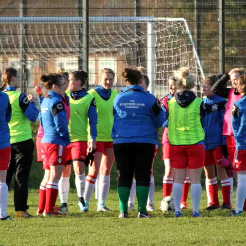 Long Lane Development (1) v Angels Ladies (2) SECWFL Kent Div 1 07.01.18. by David Couldridge