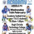Angels Academy Open Trials
