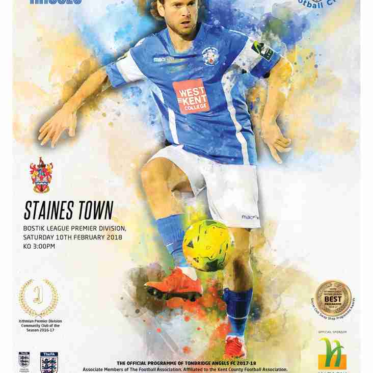 Angels vs Staines Town : Programme Preview