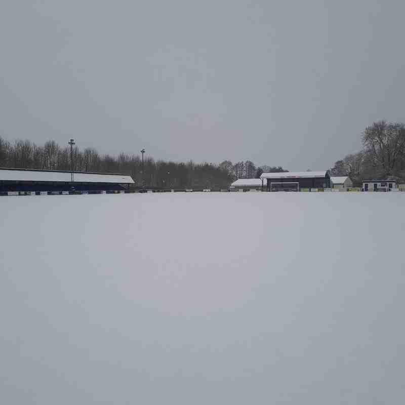 Longmead in the snow 27.02.18.