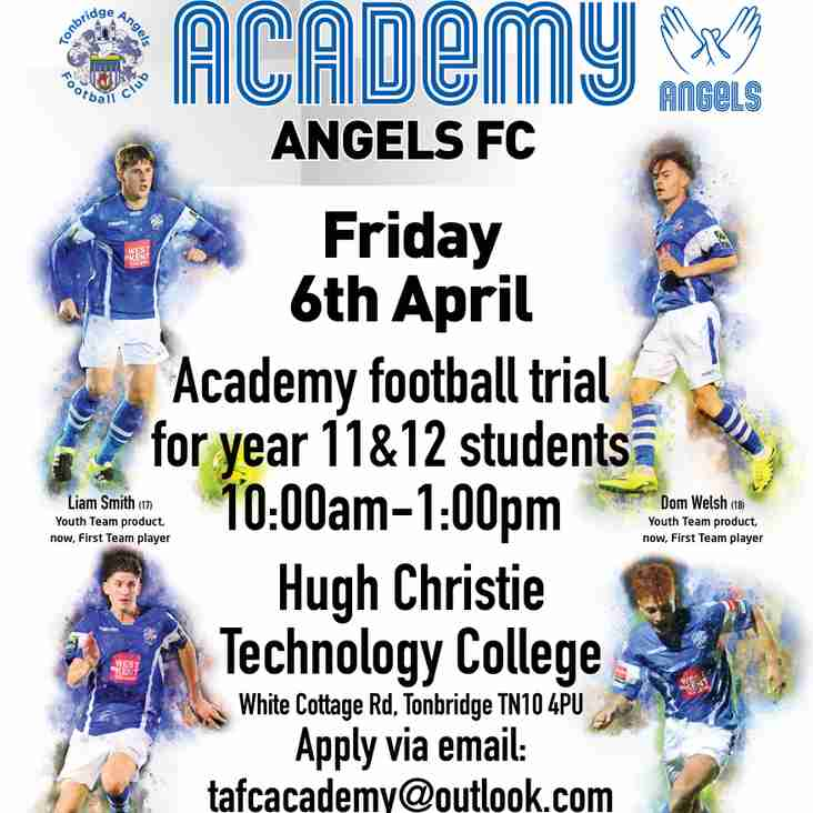 Open Trials @tafc_academy