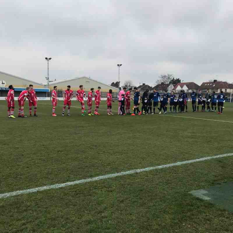 Wingate & Finchley(2) vs Angels(1) 24.03.18. Bostik Premier by Kathryn Bell