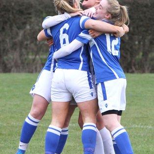 Ladies 3-0 winners at Meridian