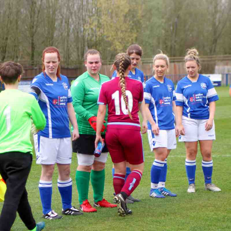 Angels Ladies(7) vs Diamond Utd(3) Kent Divisional Cup Semi Final 08.04.18. by David Couldridge