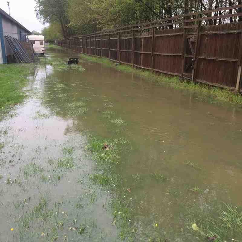 Longmead after 30.04.18. downpour by Peter Elves