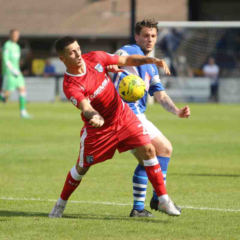 Angels (1) vs Gillingham (5) pre-season friendly 14.07.18. by David Couldridge