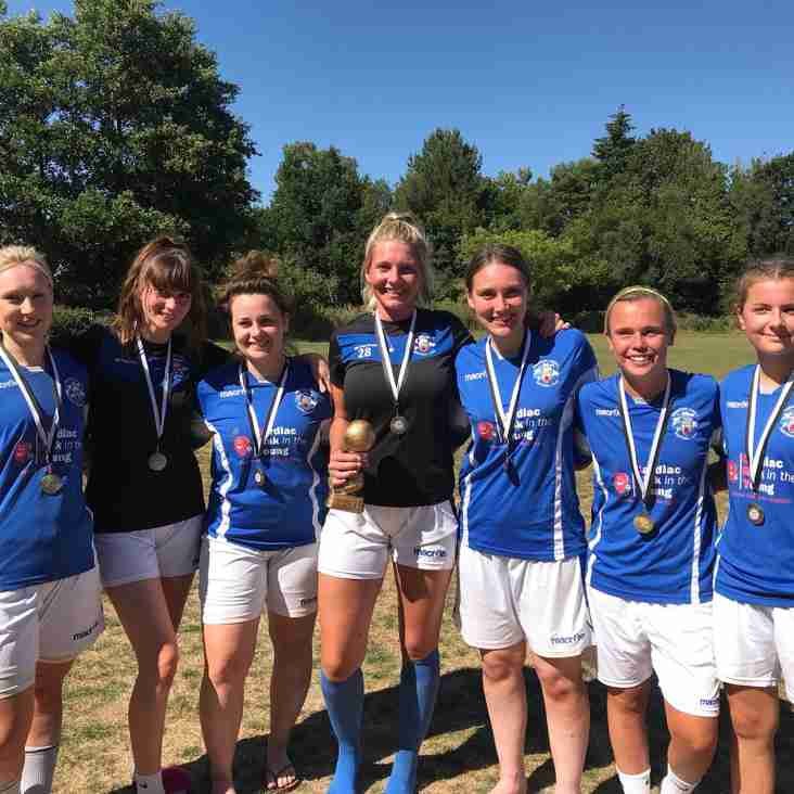 First Tournament Success for Ladies