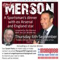 Sportsman's Dinner with Paul Merson