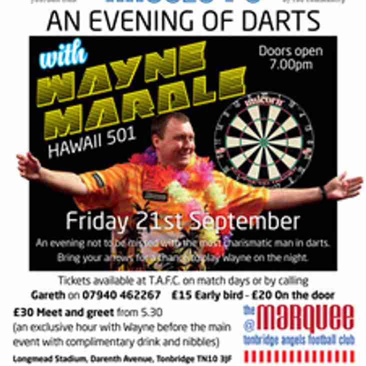 An Evening with Wayne Mardle - Tonight!