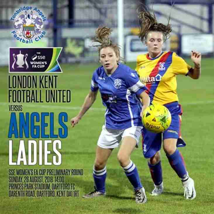 Angels Ladies make their first appearance in Womens FA Cup