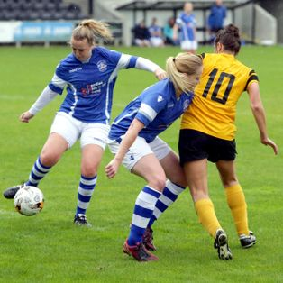 Ladies beaten but not disgraced in FA Cup