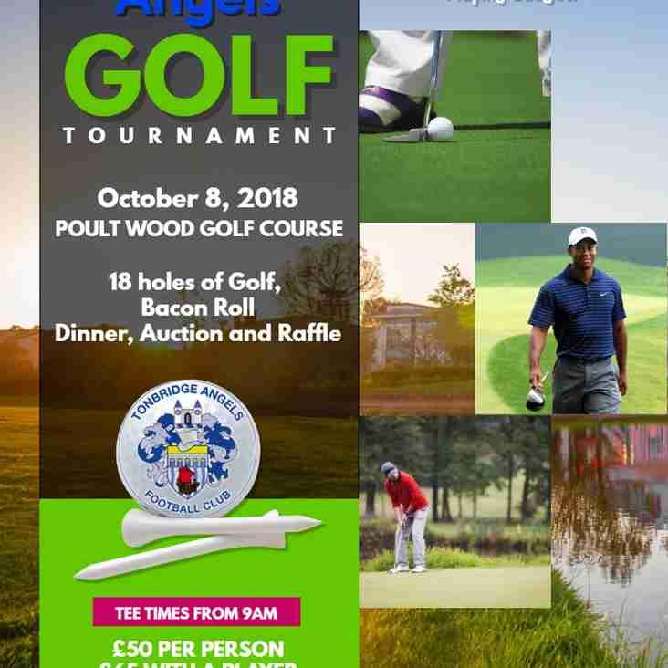 Tonbridge Angels Golf Day - Monday 8th October