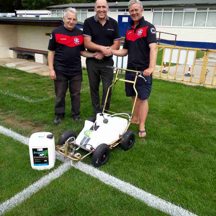New White Line machine comes to Longmead