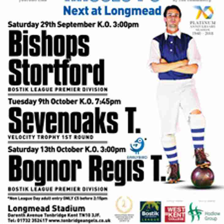Latest Match Poster including Non-League Day