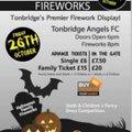 Halloween Fireworks at Longmead, home of Tonbridge Angels