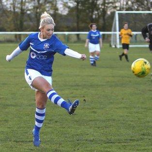 Ladies convincing win in local derby