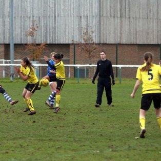 Ladies triumph over league leaders