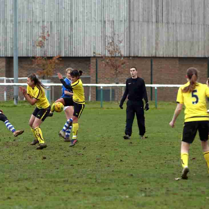 Ladies triumph over league leaders