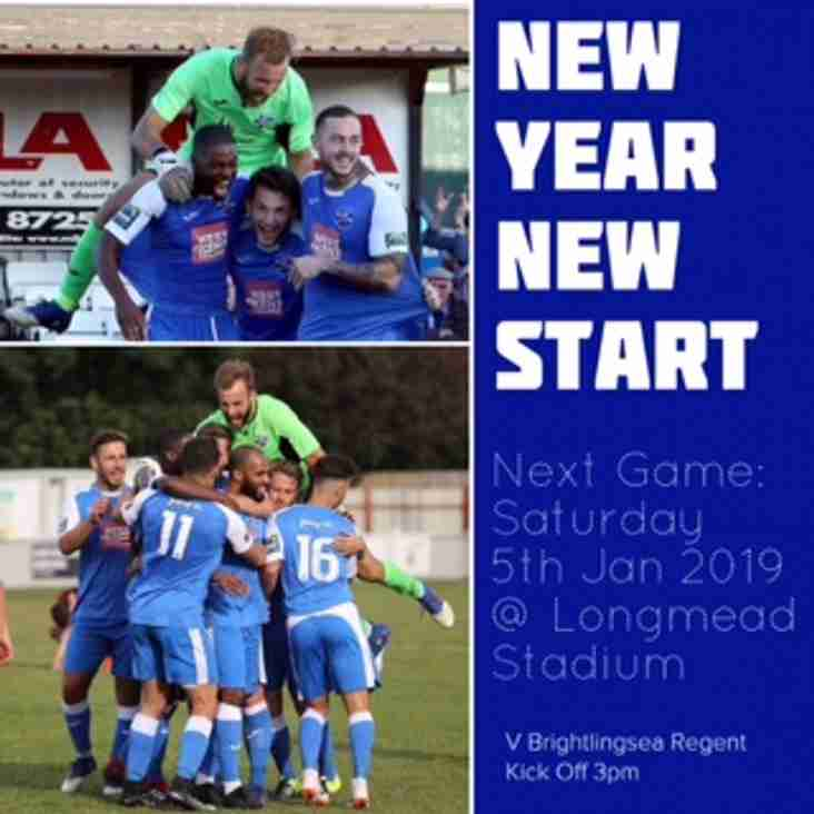 A Very Happy New Year to all at Tonbridge Angels