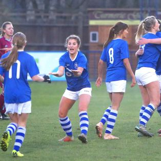 Ladies through to KCFA Plate semi final