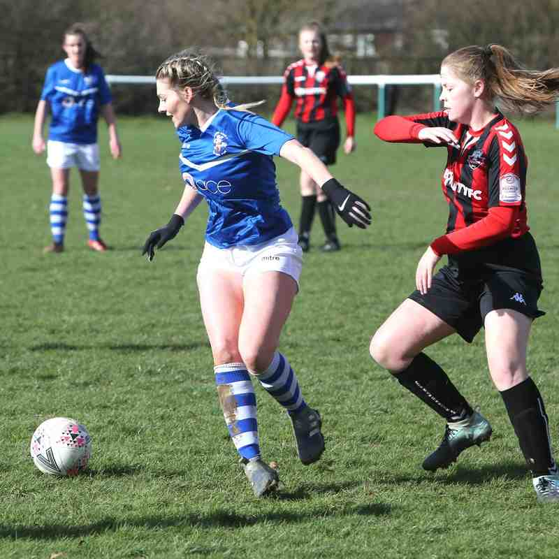 Angels Ladies (1) vs Lewes (2) Chairman's Cup semi final, 10.03.19. By David Couldridge