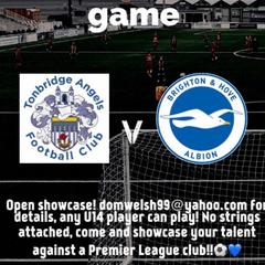 U14s Showcase Match versus The Seagulls