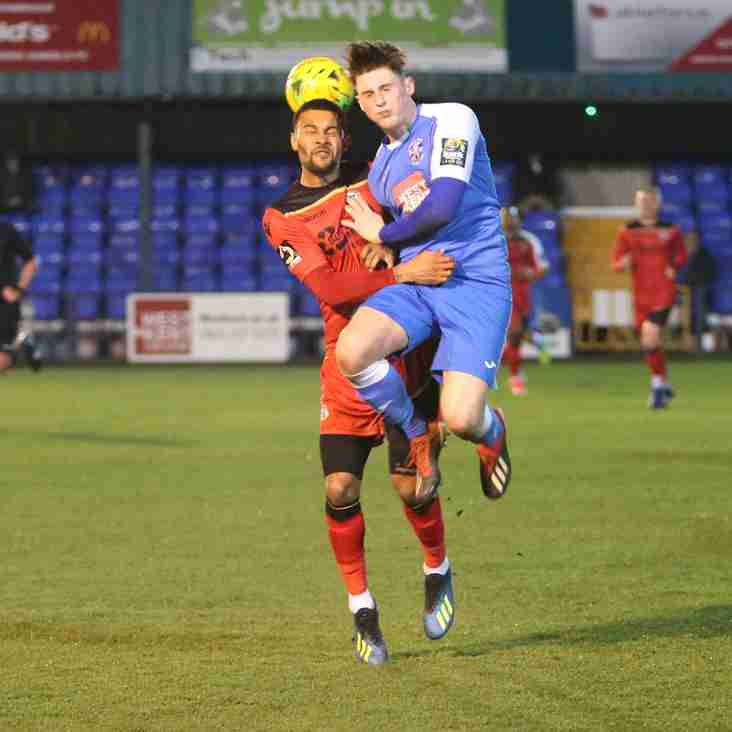 Angels make Bromley work hard for semi final victory