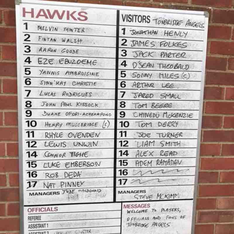 Whitehawk(0) v Angels (4) Bostik Premier, 23.03.19. By Kathryn Bell