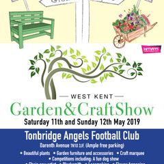 West Kent Garden & Craft Show Saturday 11th and 12th May 2019