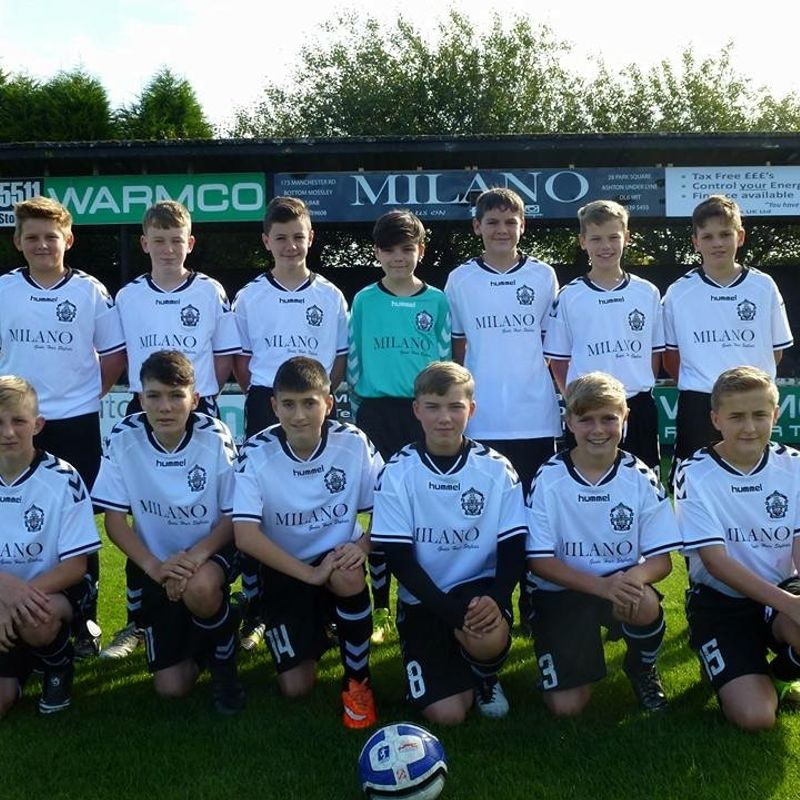Under 14's Squad Announcement