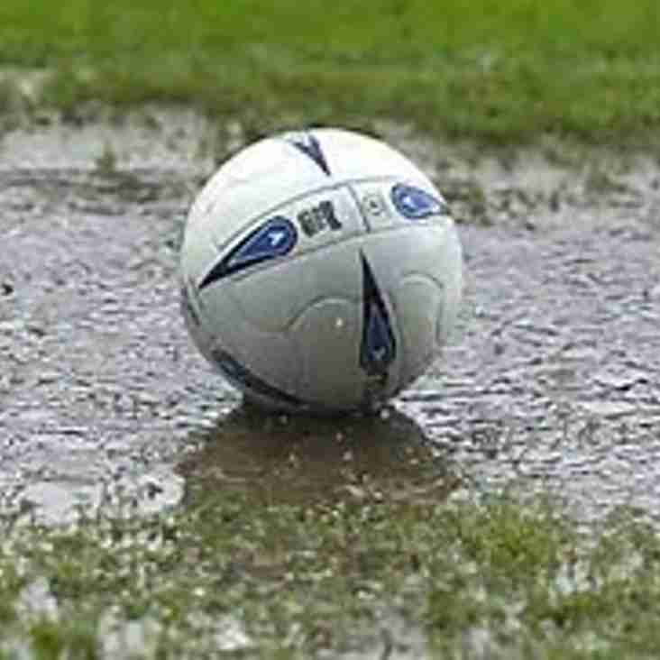 Under 15's Game falls to the Weather