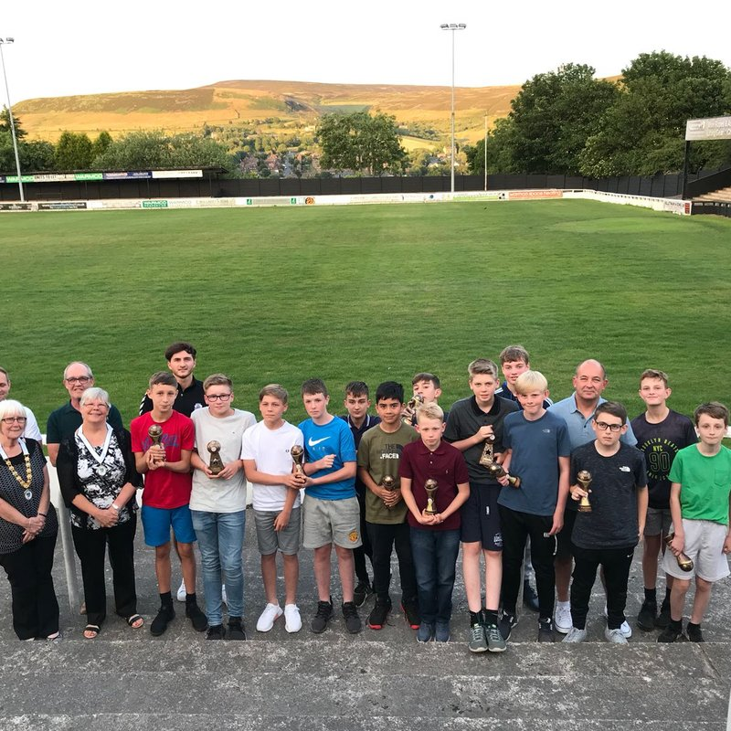 Under 13s Blacks Presentation Night