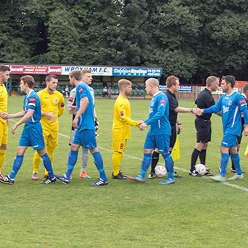 Wroxham V Harlow Town - 11th August