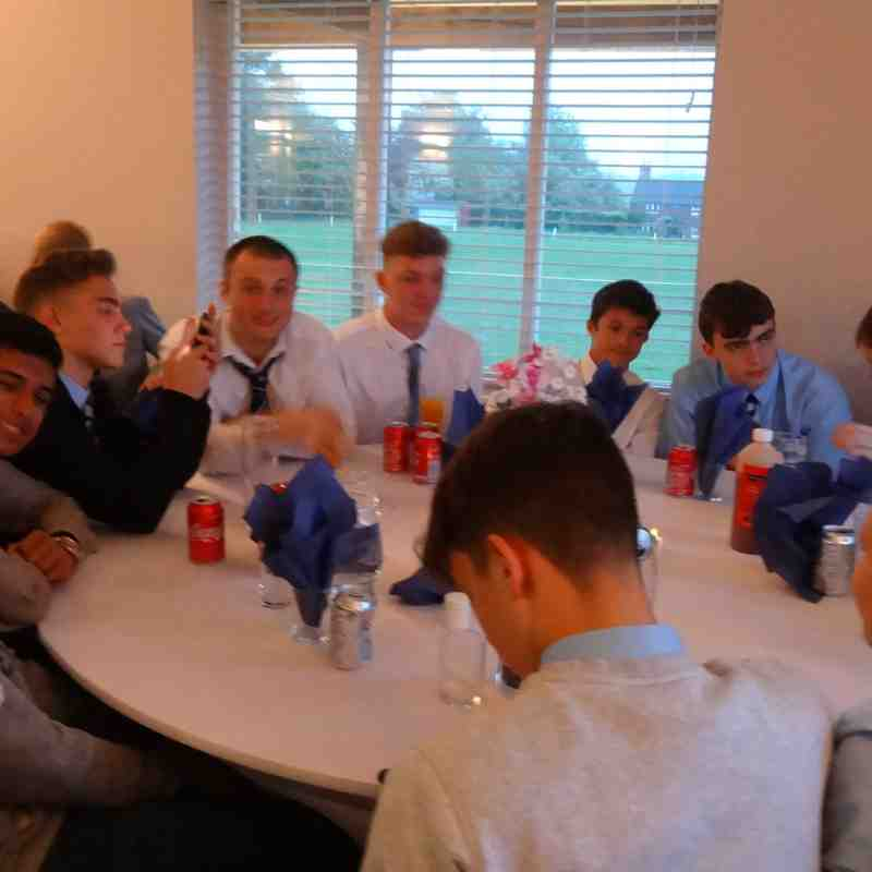 u15 2017/18 EoY Awards