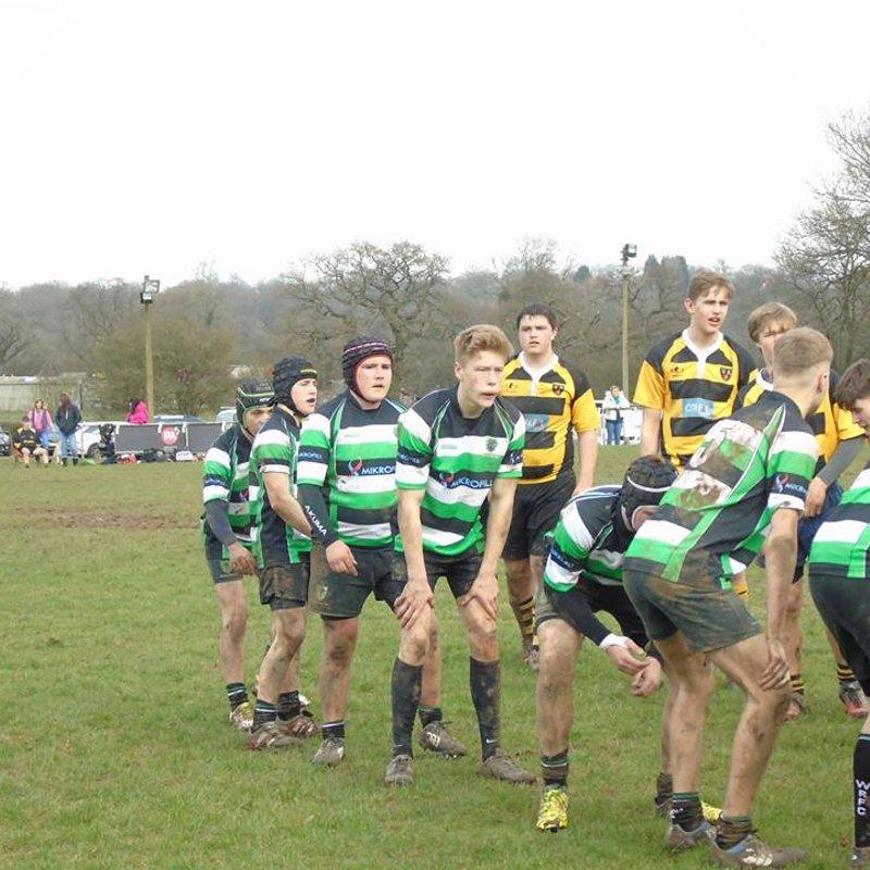 Woodrush U16s V Telford U16