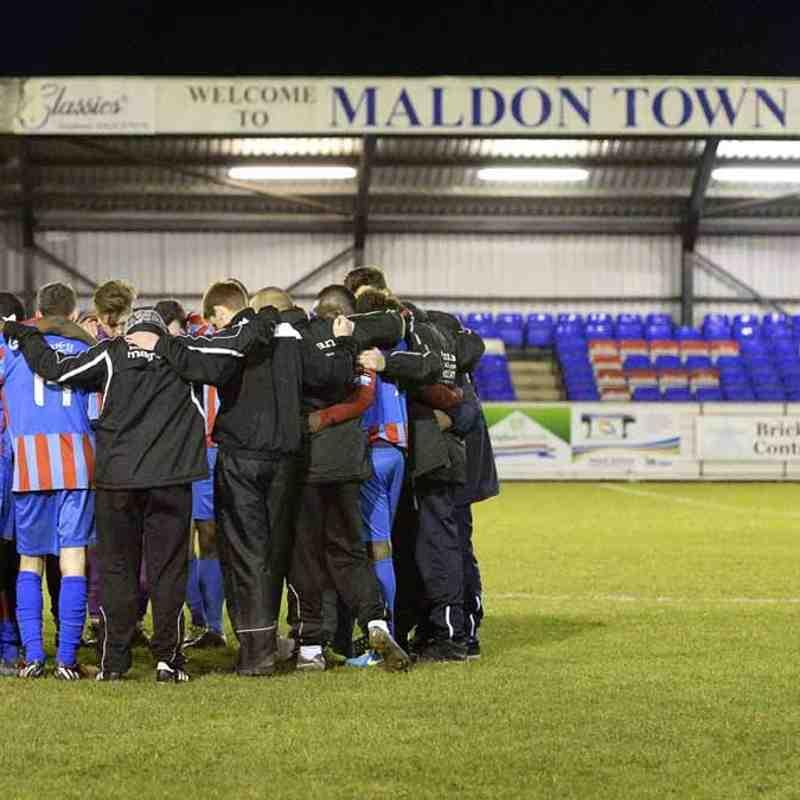 Maldon & Tiptree vs Thamesmead