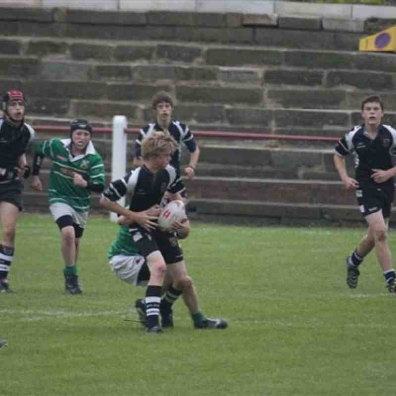 Under 14s - Yorkshire Cup Round 1 - Otley 40 Wharfedale 0
