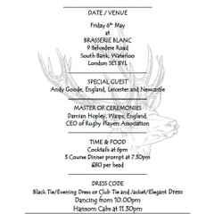 CS End of Season / 152 Anniversary Dinner