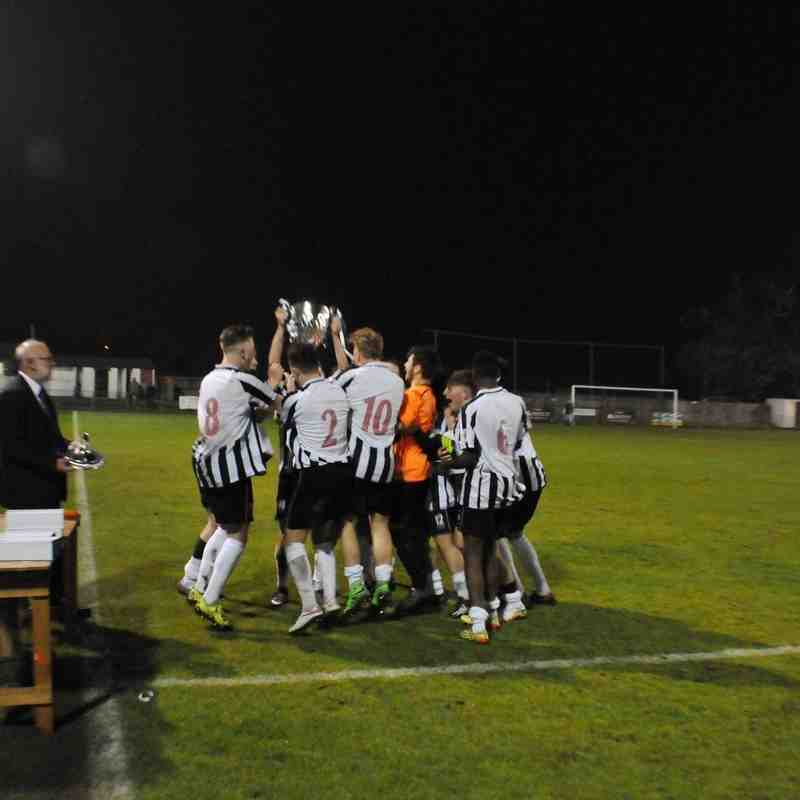 Youth team league cup final
