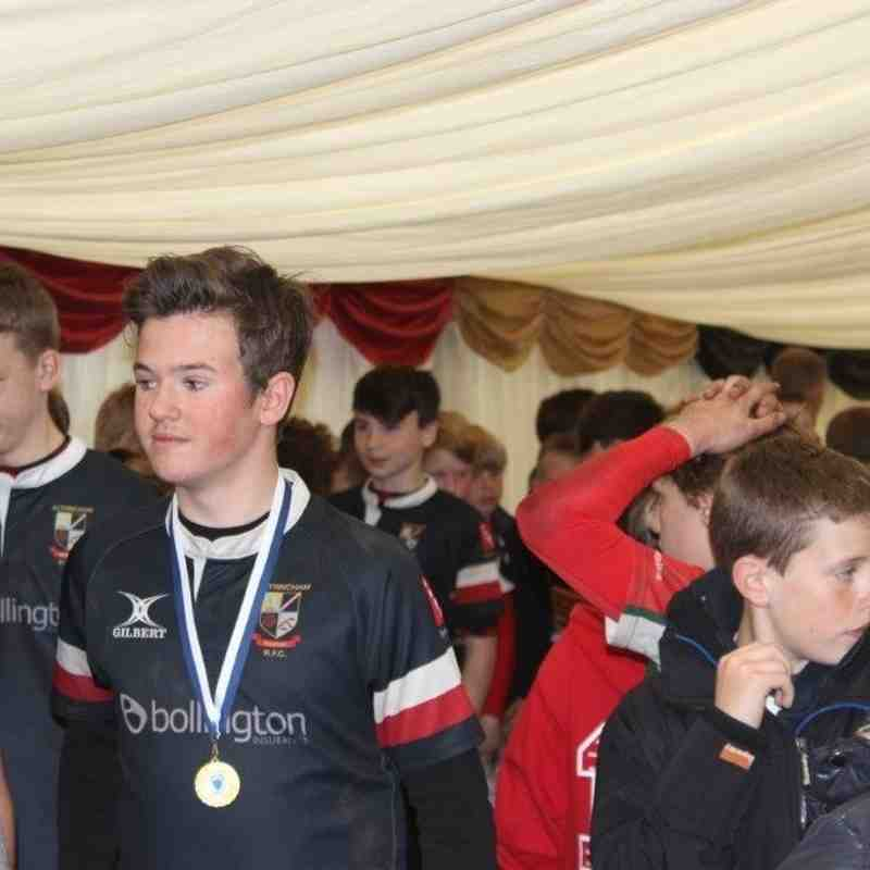 U12s Cheshire Plate Final Photos