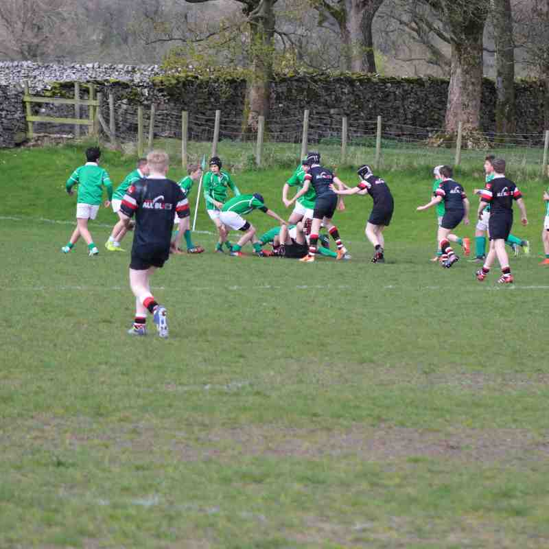 AKU13s V Wharfedale 23 April 2017