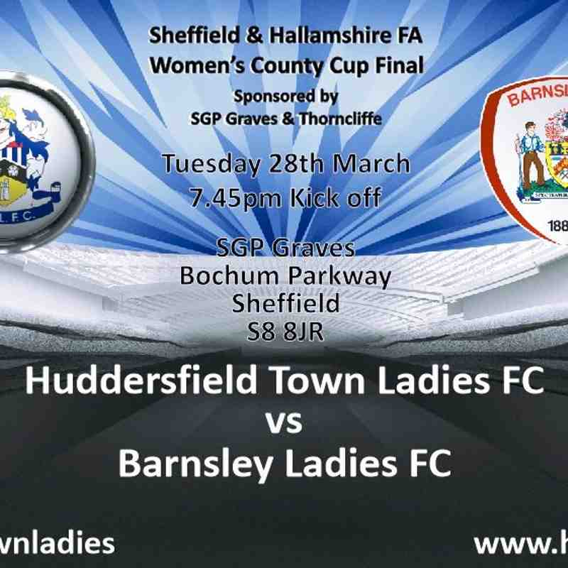 2016/17 County Cup Final V Huddersfield Ladies (First Team)