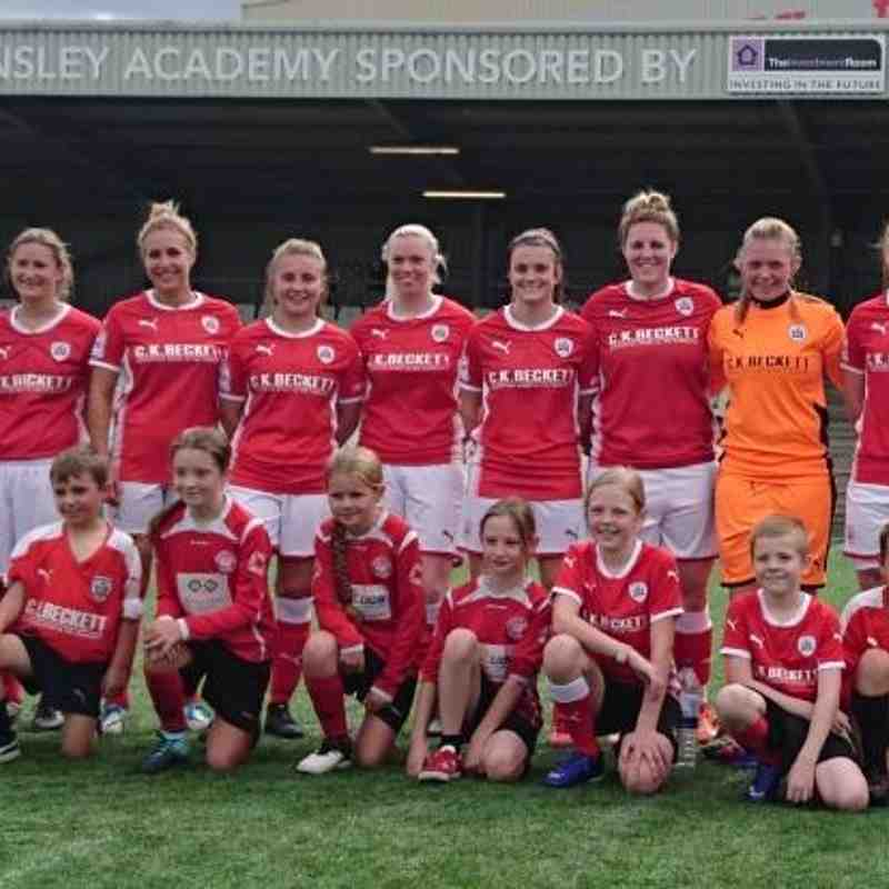 27-08-17 1st Team vs Liverpool Marshall Feds Ladies