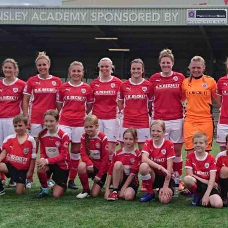 27-08-17 1st Team vs Liverpool Marshall Feds Ladies