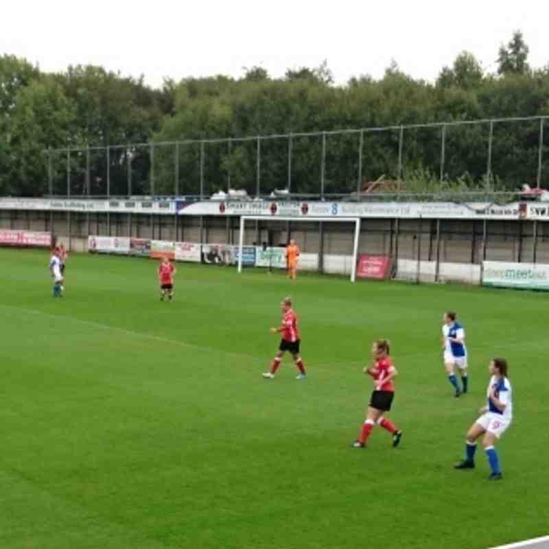 03-09-17 1st Team vs Blackburn Rovers Ladies WPL cup