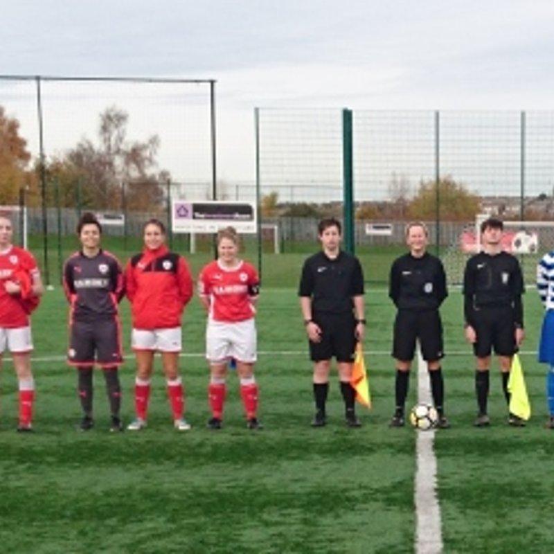Barnsley FC Ladies vs Chester le Street Ladies FC